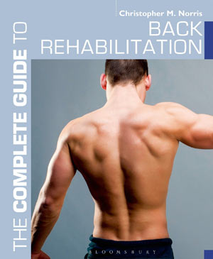 back rehabilitation book