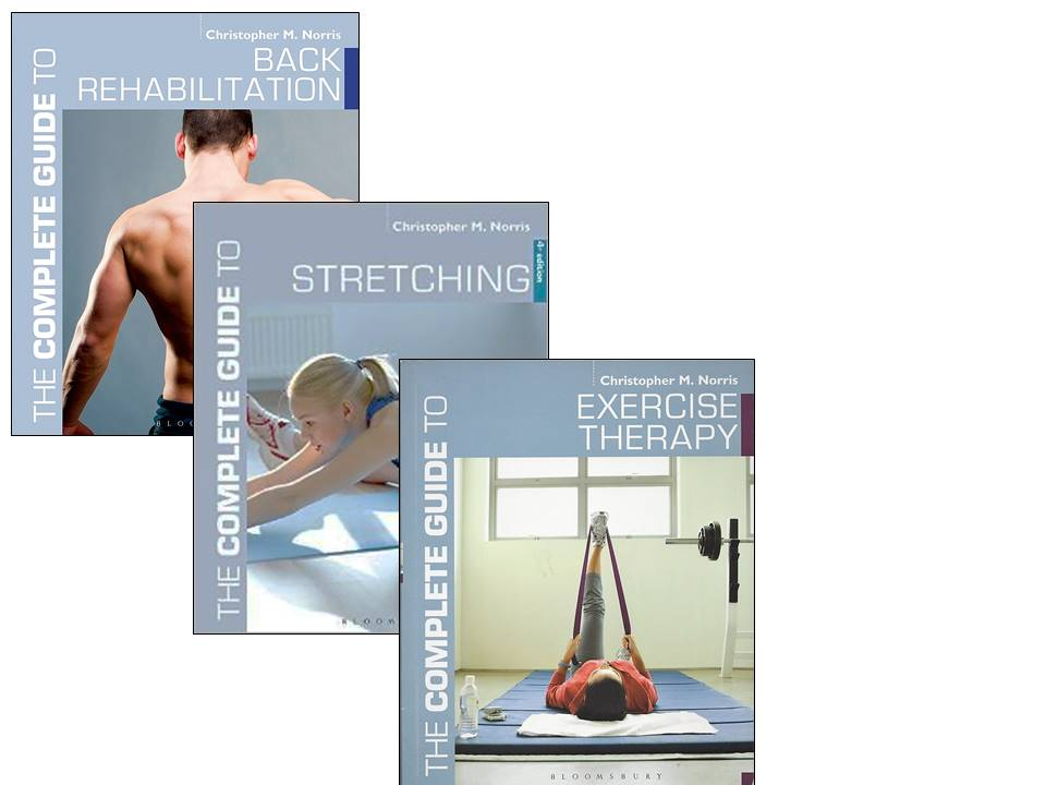 books by Chris Norris for exercise prescription