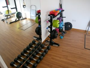 Norris Health equipment for clinical personal training
