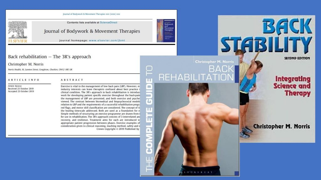 Back Stability for back rehab